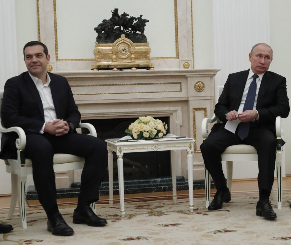 Το ξεκάθαρο «καρφί» του Πούτιν στον Τσίπρα