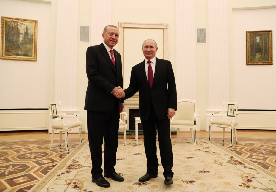 Νέα συνάντηση Πούτιν - Ερντογάν για τη Συρία