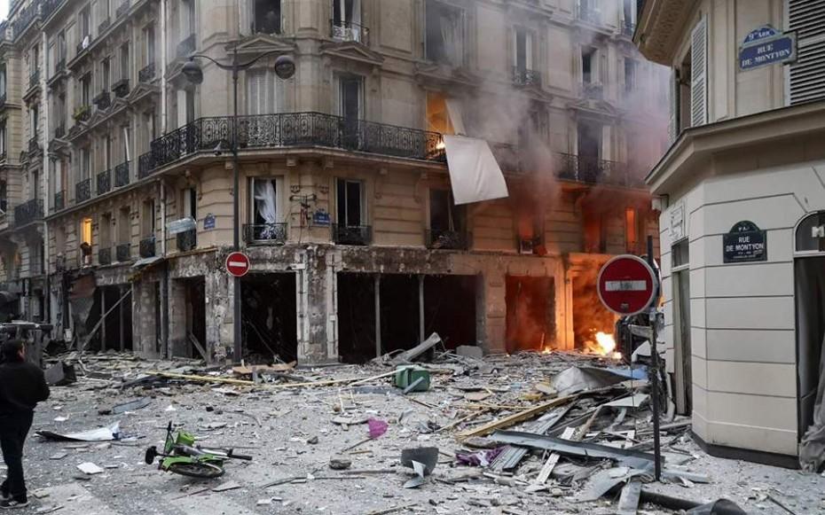 Έκτακτο: Ισχυρή έκρηξη στο Παρίσι - Τουλάχιστον 4 νεκροί