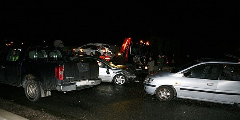 Καραμπόλα στη Θεσσαλονίκη με δύο τραυματίες