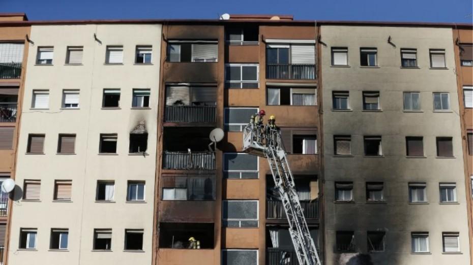 Τραγωδία στην Καταλονία από πυρκαγιά σε πολυκατοικία