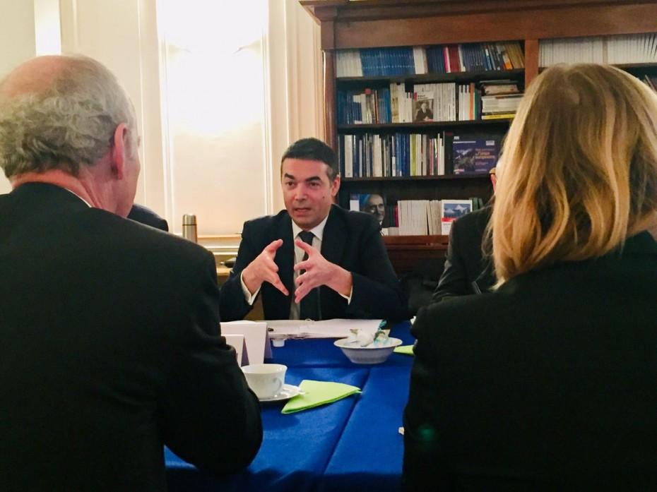 Ντιμιτρόφ: Η «Μακεδονία» πήρε το καλύτερο δυνατό από τη συμφωνία των Πρεσπών