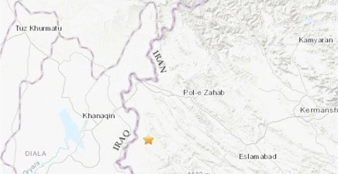Σεισμός 5,8 βαθμών στα σύνορα Ιράν και Ιράκ