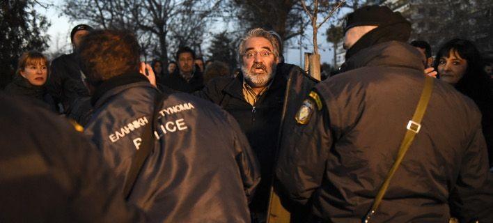 Συνθήματα κατά Νοτοπούλου, Φάμελλου και Παυλόπουλου στη Θεσσαλονίκη