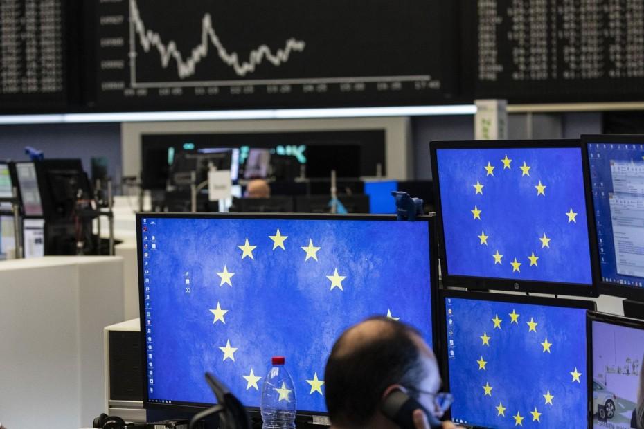 Πτώση στις ευρωαγορές και την Παρασκευή, σε μια εβδομάδα πιέσεων
