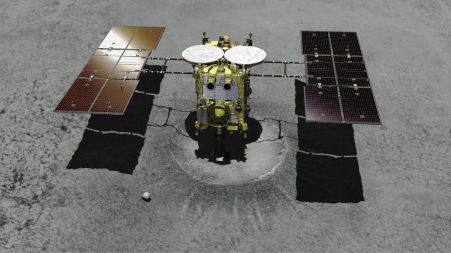 Η Ιαπωνία πάτησε στον αστεροειδή Ριούγκου