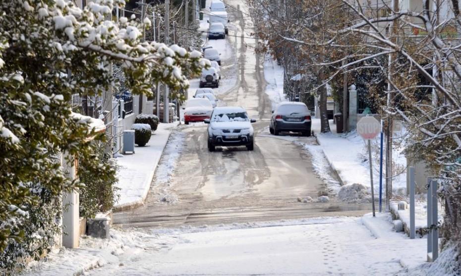 Η «Χιόνη» φέρνει χιόνια και στην Αττική