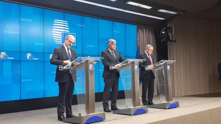 Έκδηλη η ανησυχία στο Eurogroup για την οικονομία της Ευρωζώνης