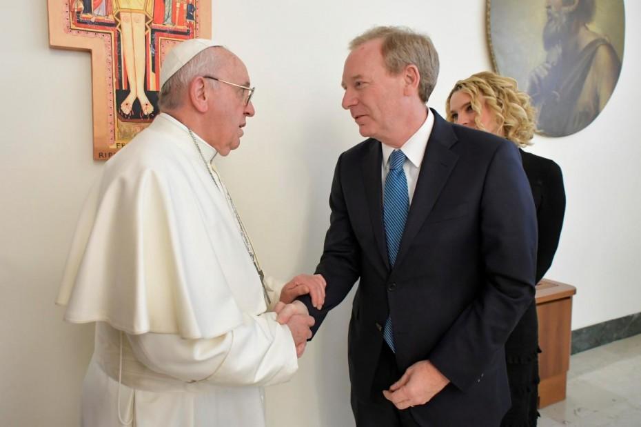 Όταν ο Πάπας συνάντησε την Microsoft