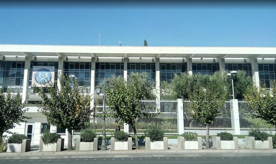 Τούρκος εισέβαλε στην αμερικάνικη πρεσβεία