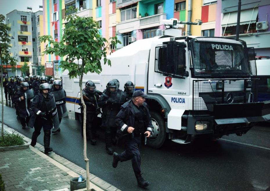 Νέος γύρος επεισοδίων στην Αλβανία, κατά του Ράμα