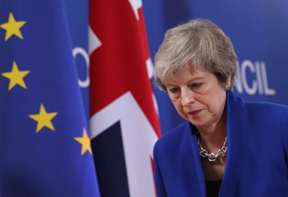 Ακόμα μια πανηγυρική ήττα για Μέι επί του Brexit