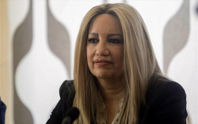 Γεννηματά: Με ανησυχεί ο πολιτικός αχταρμάς που διαλύει τη χώρα