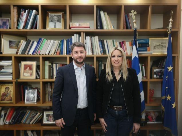 ΚΙΝΑΛ: Ο Ανδρουλάκης και πάλι υποψήφιος στις ευρωεκλογές