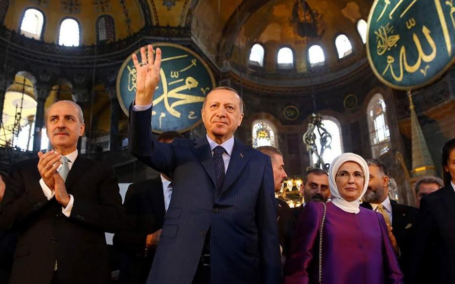 Ίσως κάνω τζαμί την Αγιά Σοφιά, τάζει τώρα (προεκλογικά) ο Ερντογάν