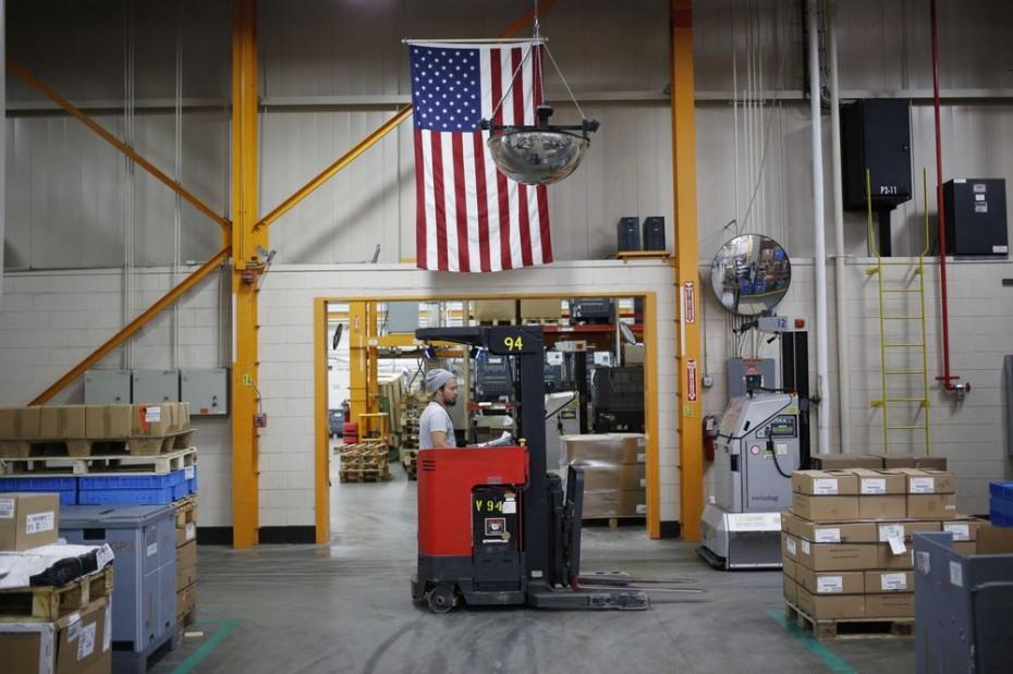 Κατώτερη των προσδοκιών η άνοδος στη βιομηχανική παραγωγή των ΗΠΑ