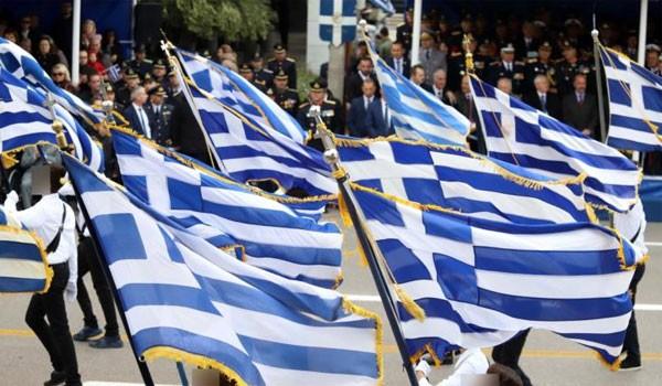 Έκλεισαν την παρέλαση με το «Μακεδονία Ξακουστή» (βίντεο)