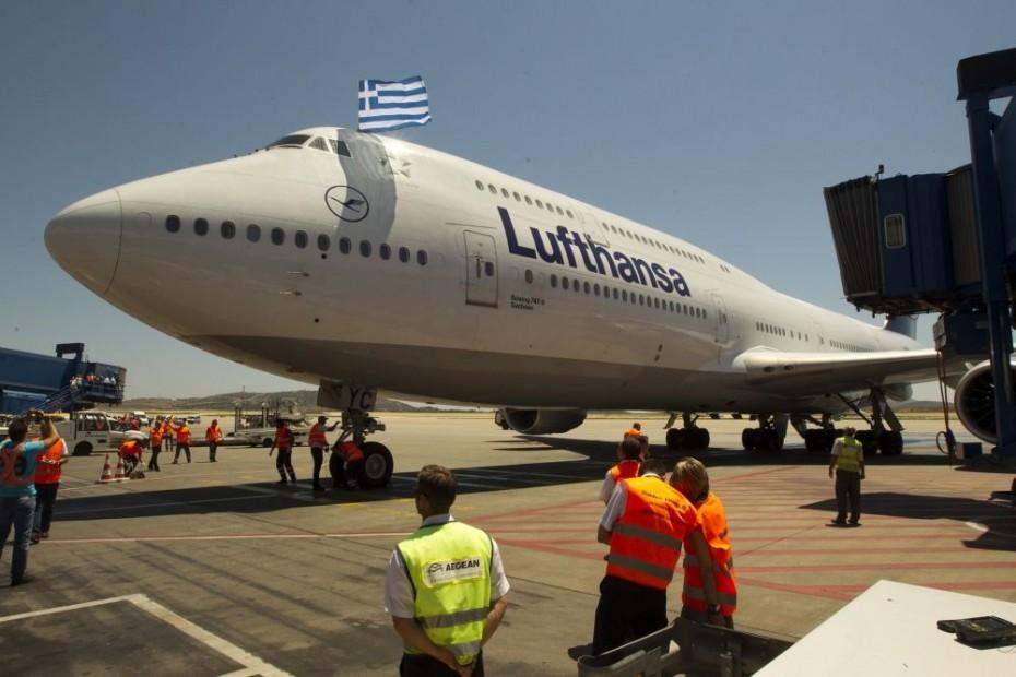 Ρεκόρ επιβατών το 2018 στην Ελλάδα από τη Lufthansa