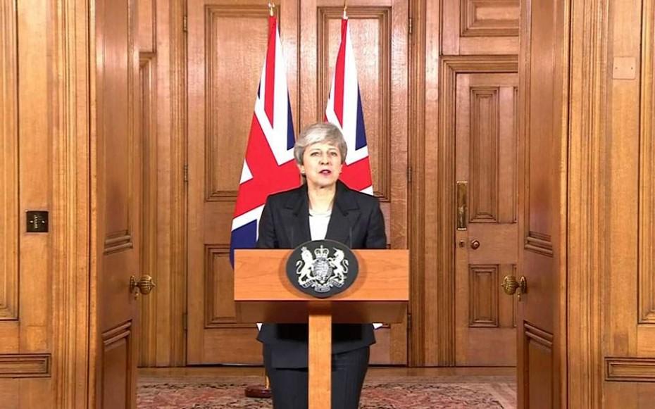 Brexit: Το διάγγελμα της Βρετανίδας πρωθυπουργού στο έθνος