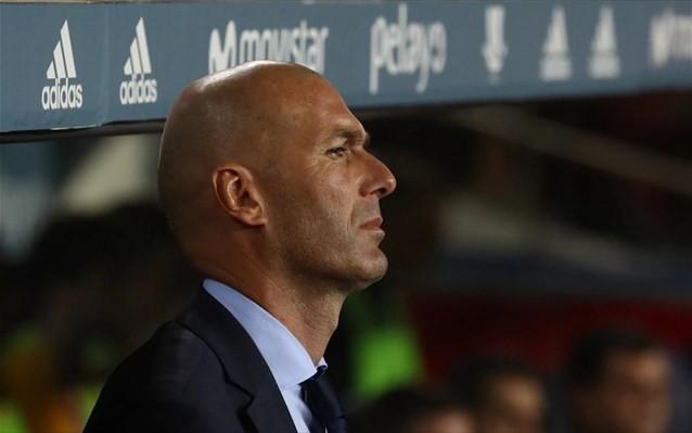 Ο Ζιντάν επέστρεψε στη Ρεάλ Μαδρίτης