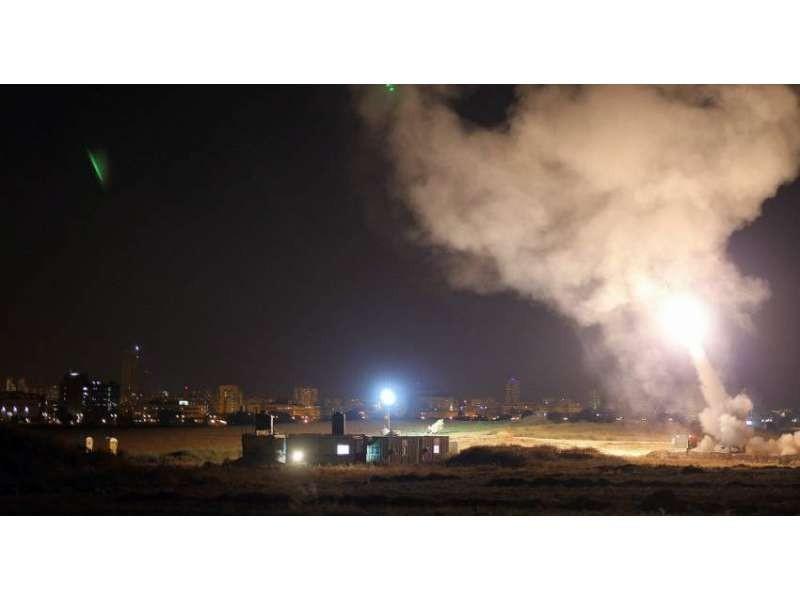 Ρουκέτες εκτοξεύτηκαν από τη Γάζα στο Ισραήλ (βίντεο)