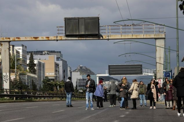 Αποκαταστάθηκε η κυκλοφορία στη Λεωφόρο Συγγρού