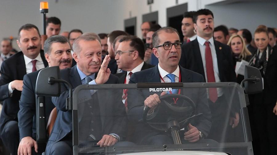 Ο Ερντογάν εγκαινίασε το «μεγαλύτερο νοσοκομείο της Ευρώπης»