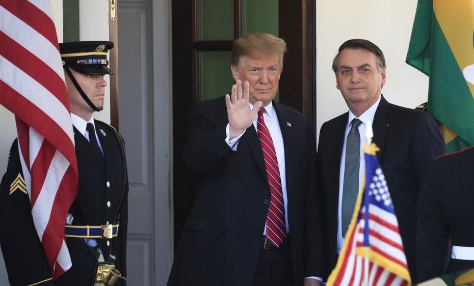 Ο Τραμπ προκρίνει την ένταξη της Βραζιλίας στο ΝΑΤΟ