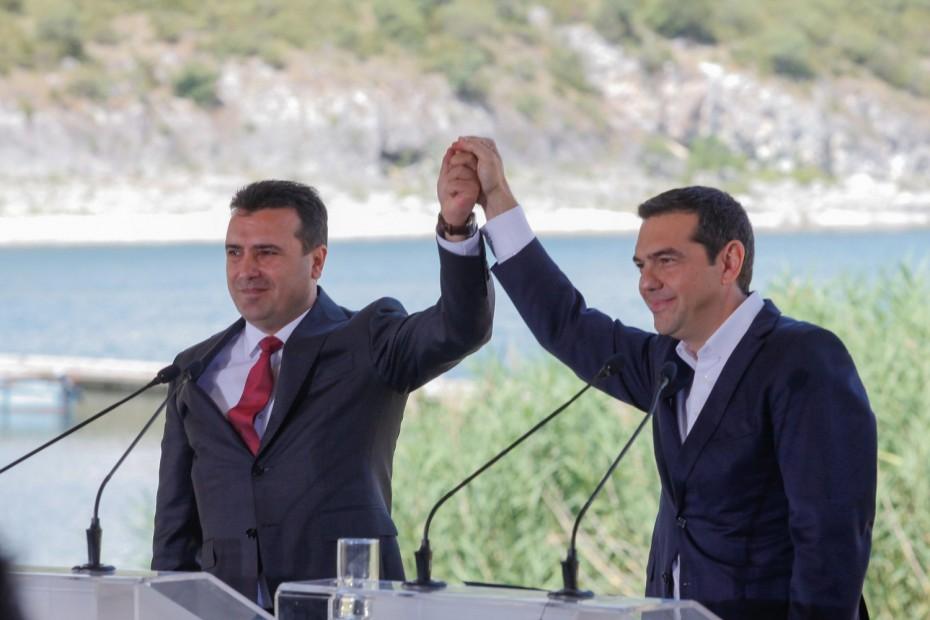 Αποκάλυψη-«φωτιά» από Ζάεφ: Ο Τσίπρας συμφώνησε σε «μακεδονική γλώσσα και ταυτότητα»