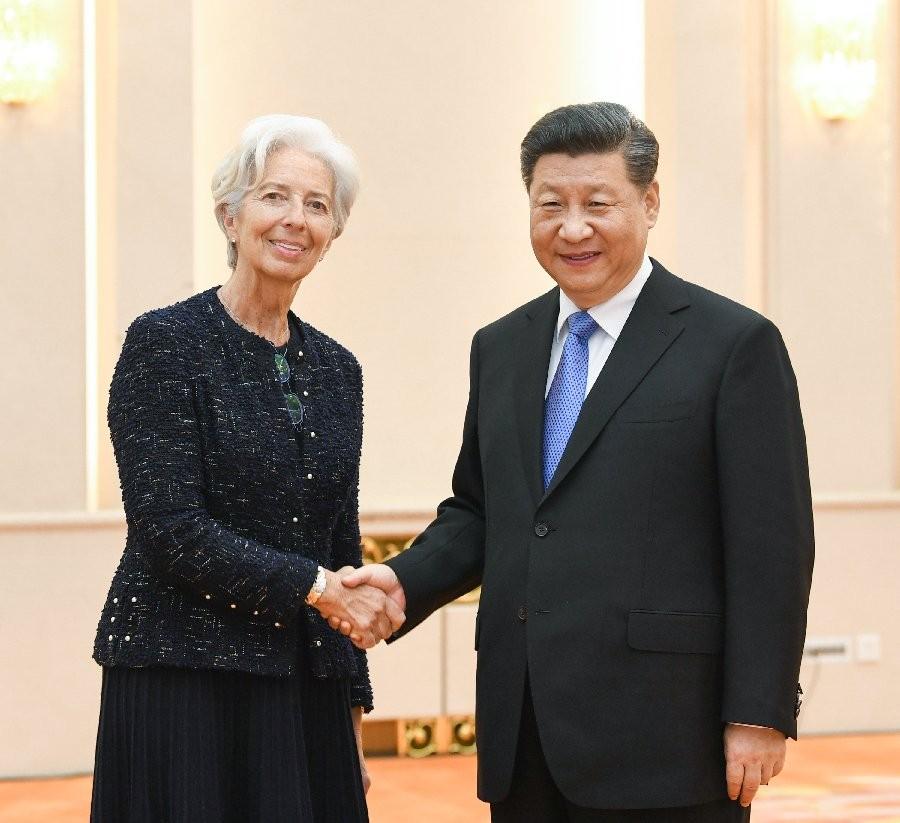 Στήριξη του ΔΝΤ στην Κίνα - Συνάντηση Λαγκάρντ με Σι