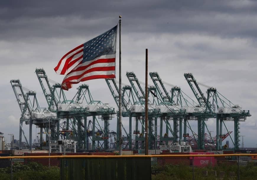Σημαντική πτώση του εμπορικού ελλείμματος των ΗΠΑ το Φεβρουάριο