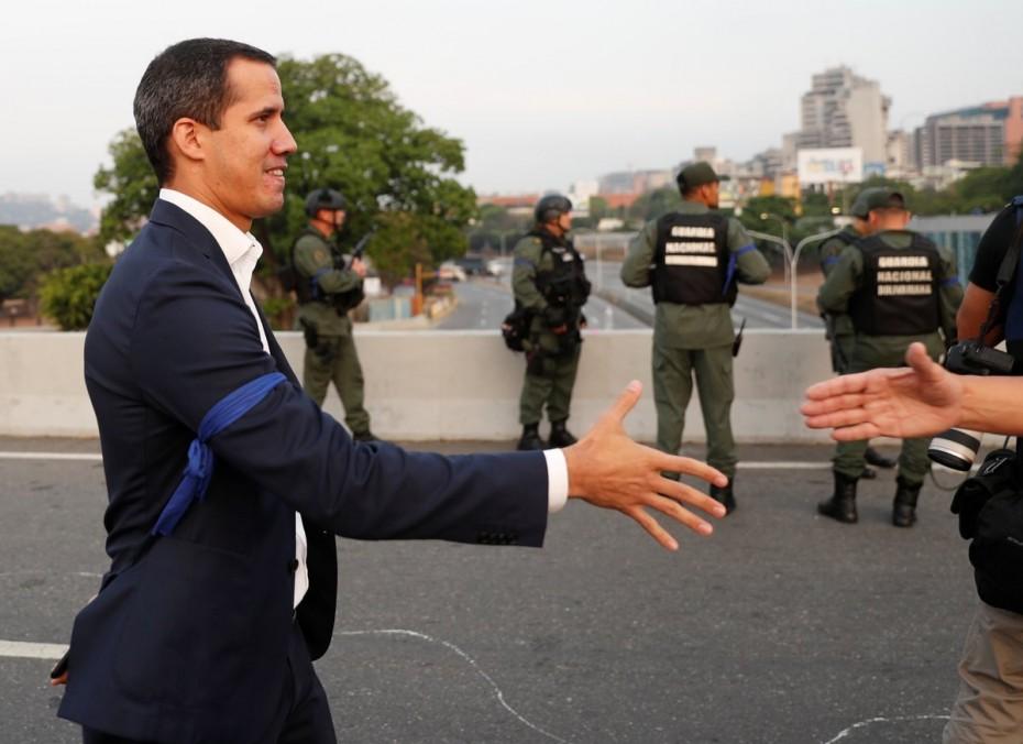 Ανοιχτή απόπειρα στρατιωτικού πραξικοπήματος στη Βενεζουέλα