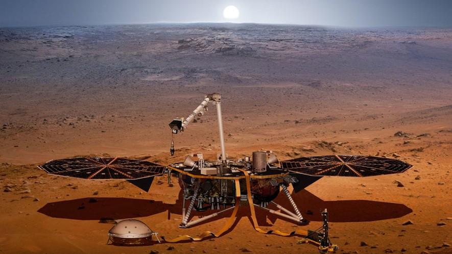 Σεισμό στον Άρη κατέγραψε το InSight