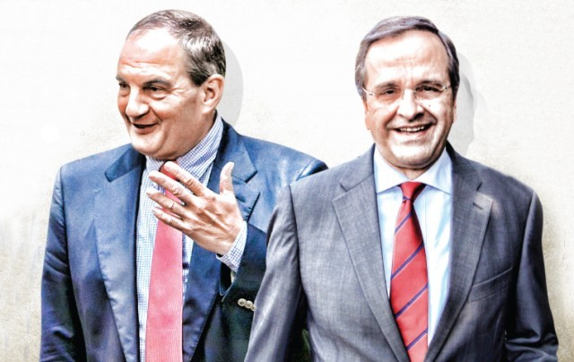 Στη μάχη κατά της «χαλαρής ψήφου» Καραμανλής - Σαμαράς