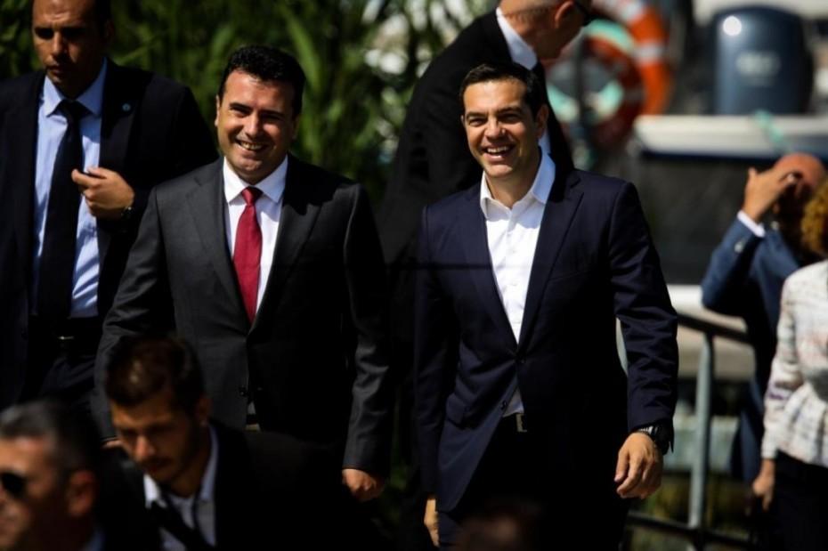 Στα Σκόπια με νέο «αφήγημα» ο Αλέξης Τσίπρας