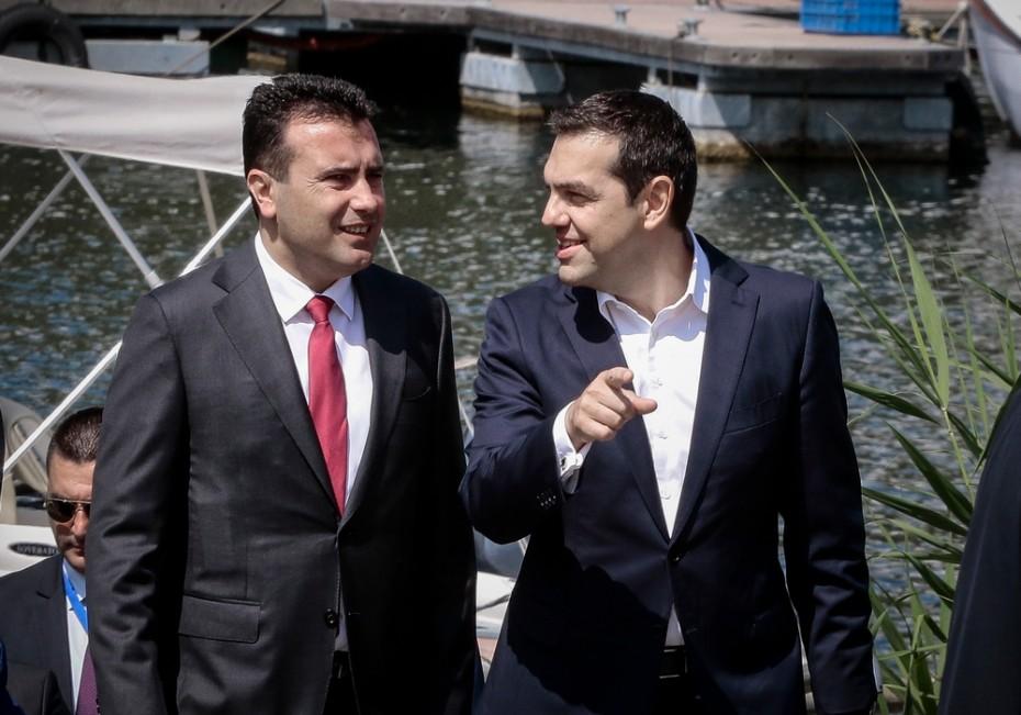 Πάνω από 140 επιχειρηματίες μαζί με τον Τσίπρα στα Σκόπια