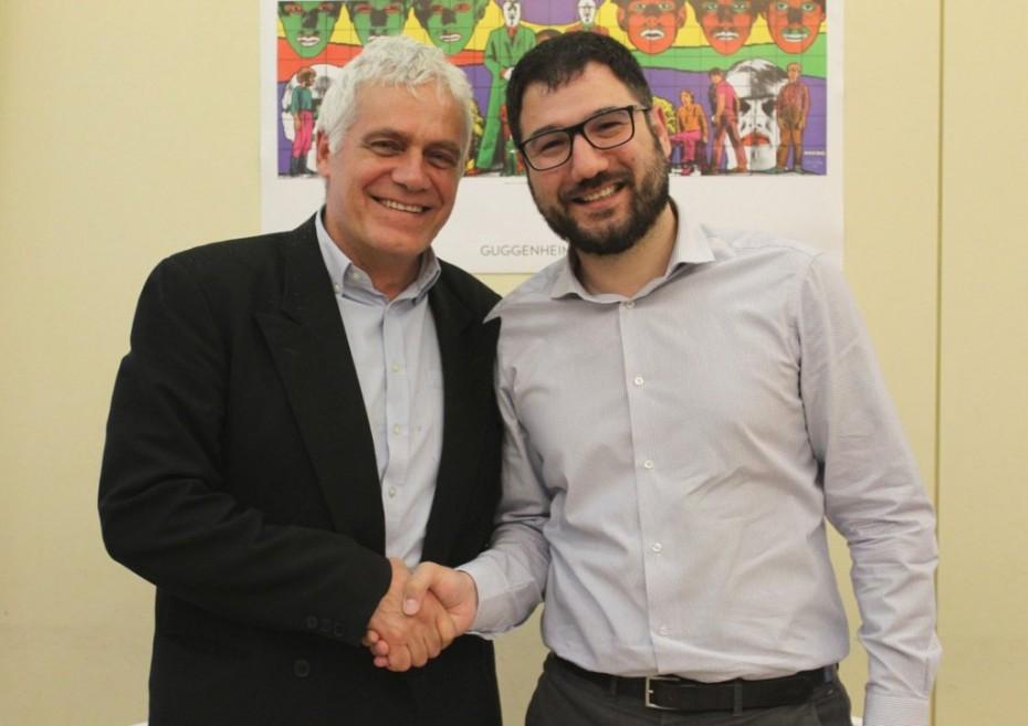 Ο Ηλιόπουλος... «απορρόφησε» τον Τσιρώνη για το δήμο Αθηναίων