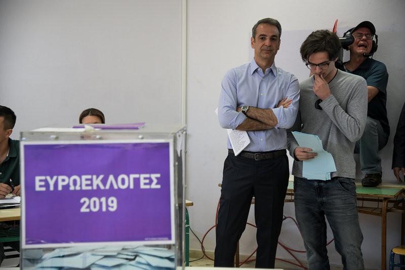Τι είπε στον γιο του πριν ψηφίσει;