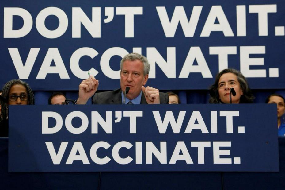 ΗΠΑ: Και ο δήμαρχος Ν. Υόρκης υποψήφιος για τις προεδρικές εκλογές του 2020