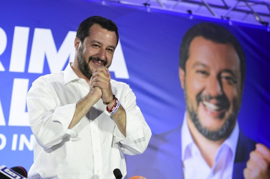 Ιταλία: Μεγάλος κερδισμένος η ακροδεξιά Λέγκα του Σαλβίνι