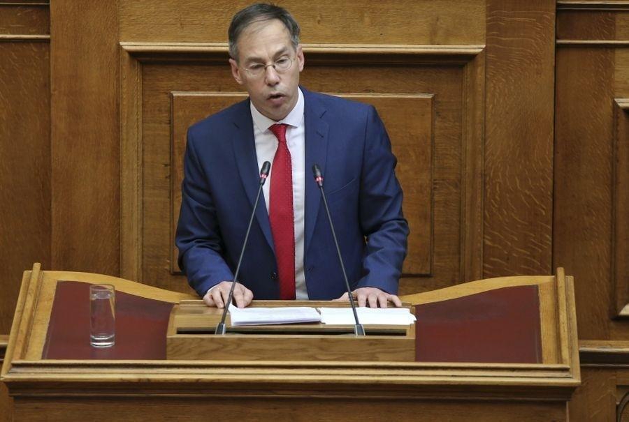 Νέος αντιπρόεδρος της Βουλής ο Γιώργος Μαυρωτάς