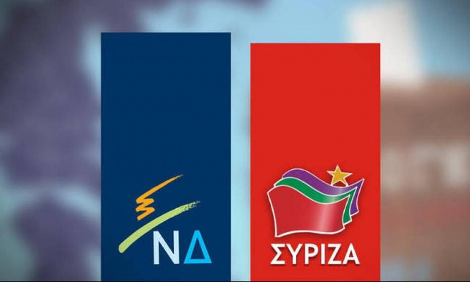 «Τρέχει» μπροστά με 9 μονάδες η ΝΔ στη μάχη των εθνικών εκλογών