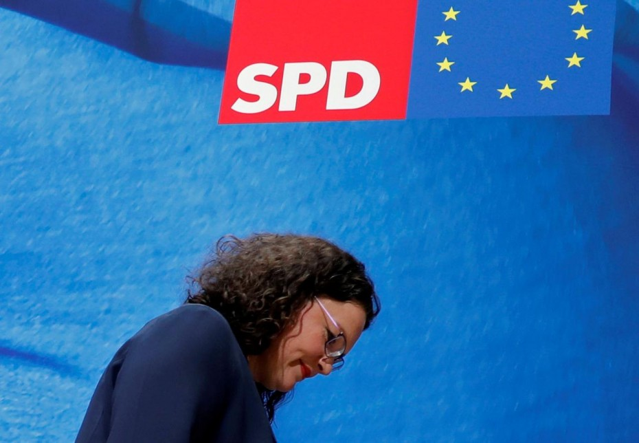 DW: Σε αναζήτηση κατεύθυνσης το SPD μετά την παραίτηση Νάλες