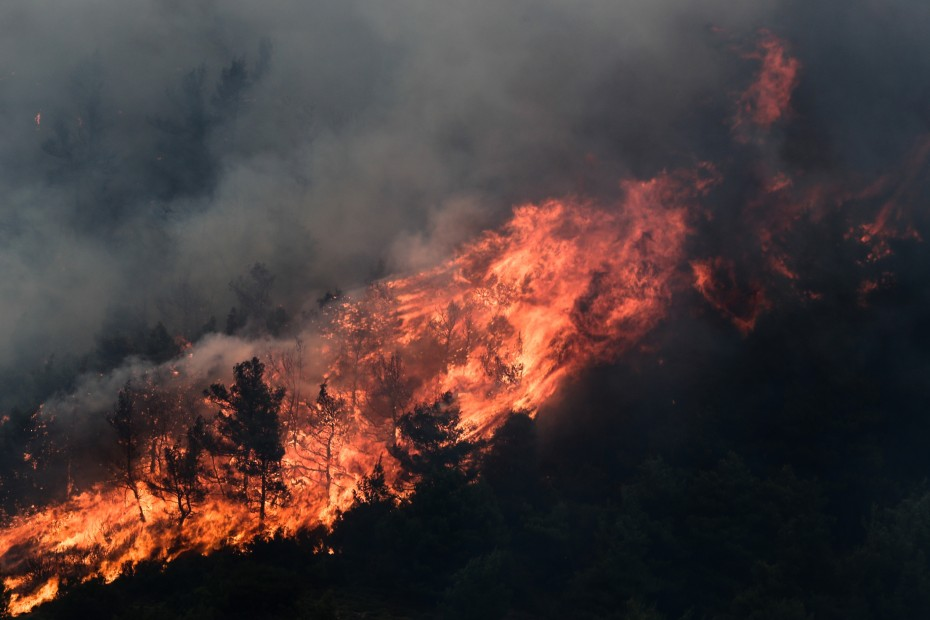 Πολύ υψηλός ο κίνδυνος πυρκαγιάς για την Τετάρτη