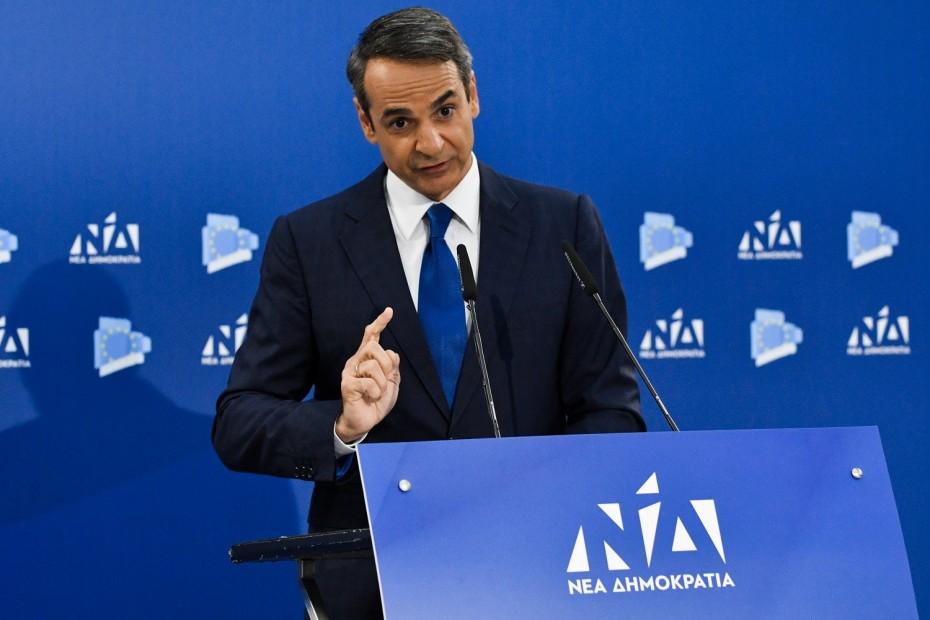 Οι δεσμεύσεις και οι στόχοι Μητσοτάκη για «ισχυρή ανάπτυξη-αυτοδύναμη Ελλάδα»