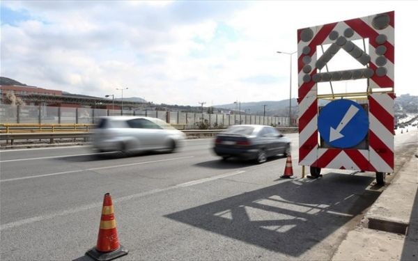 Κυκλοφοριακές ρυθμίσεις στην Εθνική Οδό Θεσσαλονίκης-Καβάλας