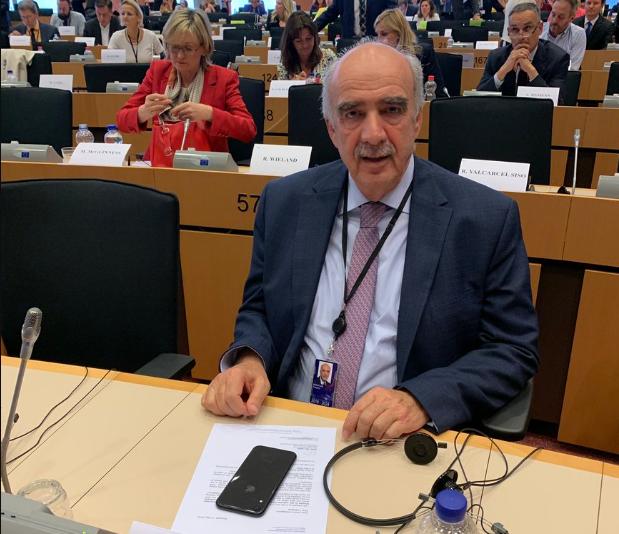 Και επίσημα ο Μεϊμαράκης στην αντιπροεδρία του ΕΛΚ