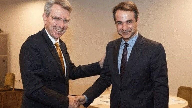 Η πρώτη συνάντηση Μητσοτάκη - Πάιατ μετά τις ευρωεκλογές
