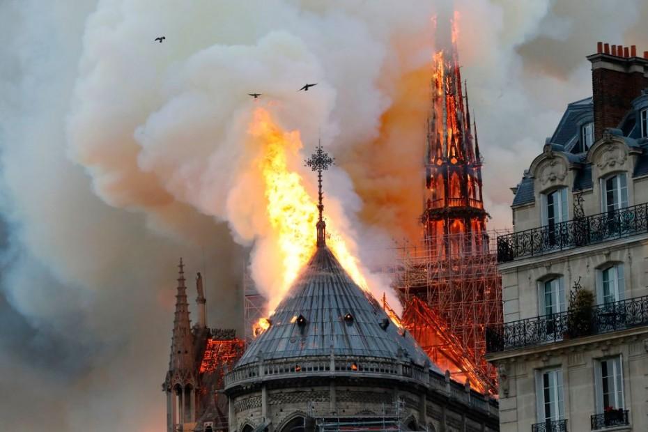 Πιθανόν οφείλεται σε αμέλεια η καταστροφή της Παναγίας των Παρισίων
