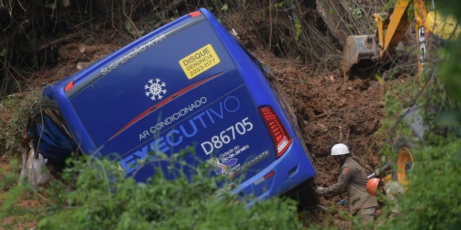 Πολύνεκρο ατύχημα με λεωφορείο στην Βραζιλία